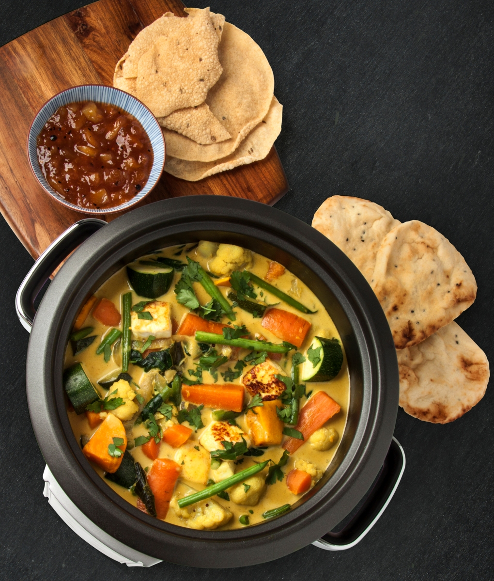 South Indian Vegetable Curry with Paneer | doodiefoodie